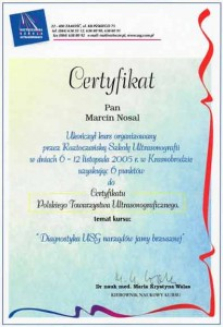 2005-Certyfikat-Diagnostyka-USG-Narzadow-Jamy_Brzusznej