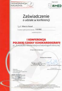 2012-Certyfikat-Europejskie-rekomendacje-echokardiografii-klinicznej